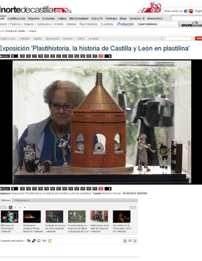 EL NORTE DE CASTILLA 24 OCT 2012