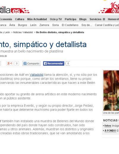 EL NORTE DE CASTILLA 27 DIC 2009